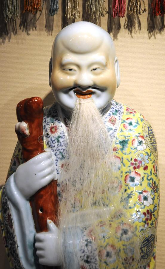 Ancient chinese figure with long life
