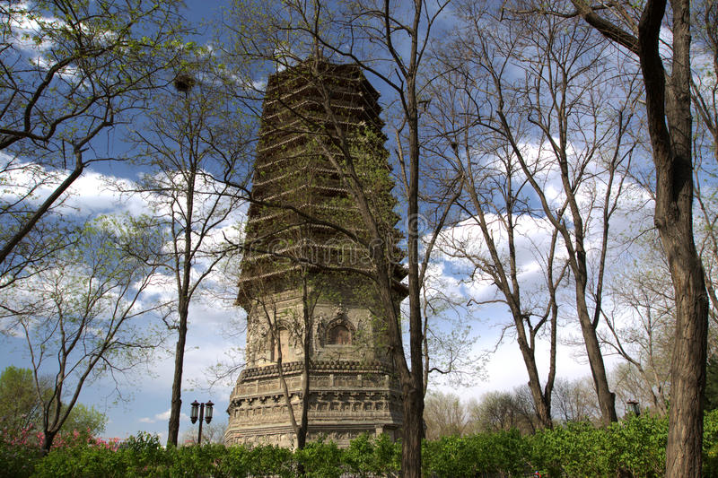 Download Ancient Chinese Pagoda Stock Photography - Image: 19255302
