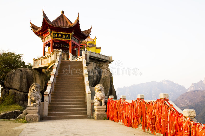 Download Ancient Chinese Temple stock photo. Image of chromatic - 8991762