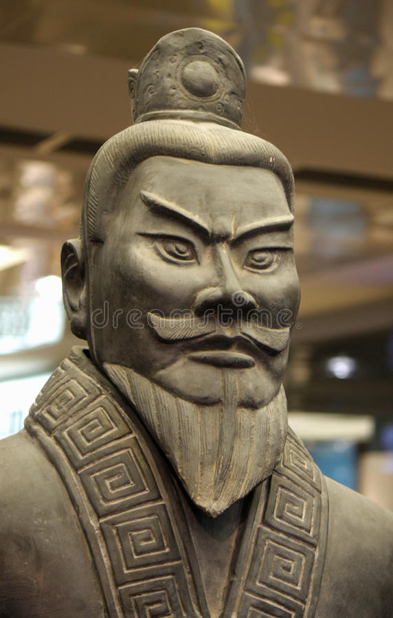 Ancient Chinese Terracotta Army stock image