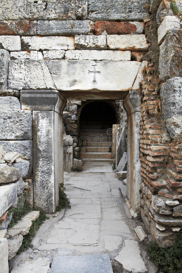 Download Ancient Christian Doorway Royalty Free Stock Image - Image: 16053906