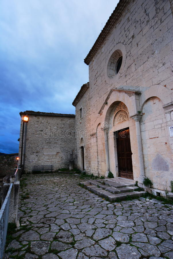 Ancient Church In Campobasso Royalty Free Stock Photo