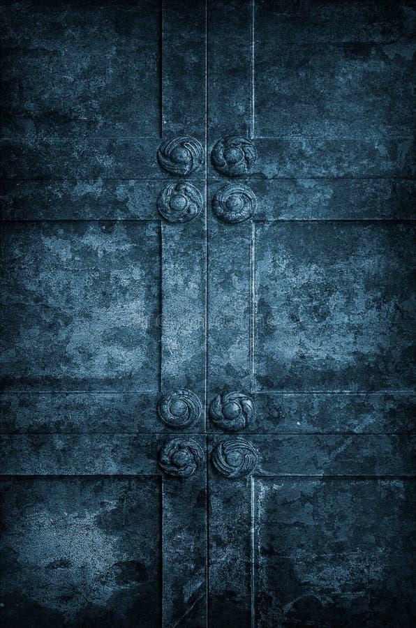 Ancient Church Door stock photos