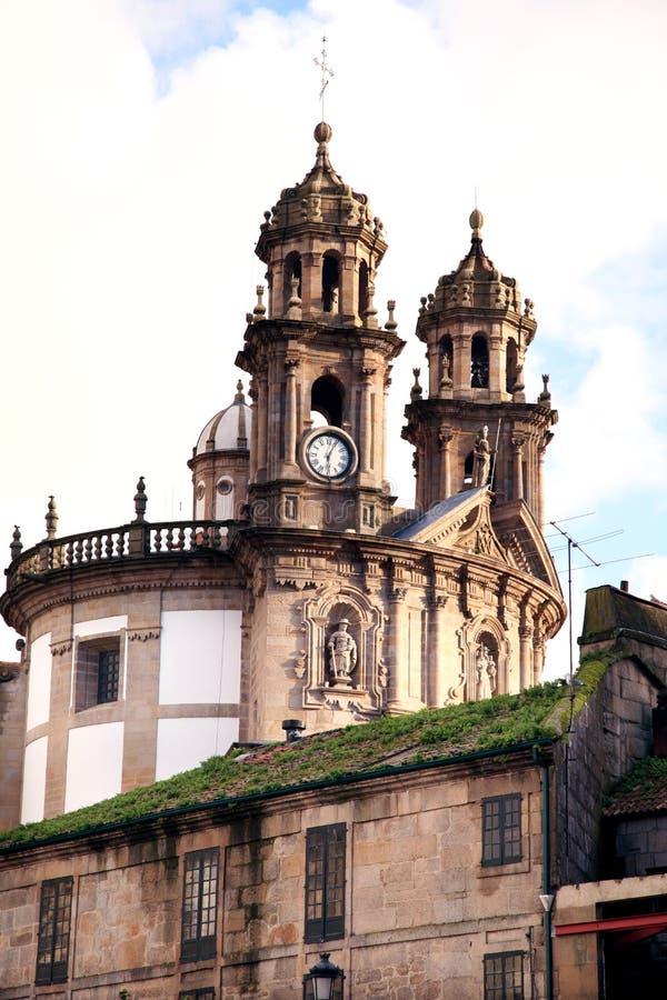 Free Ancient Church In Pontevedra Stock Image - 19006331