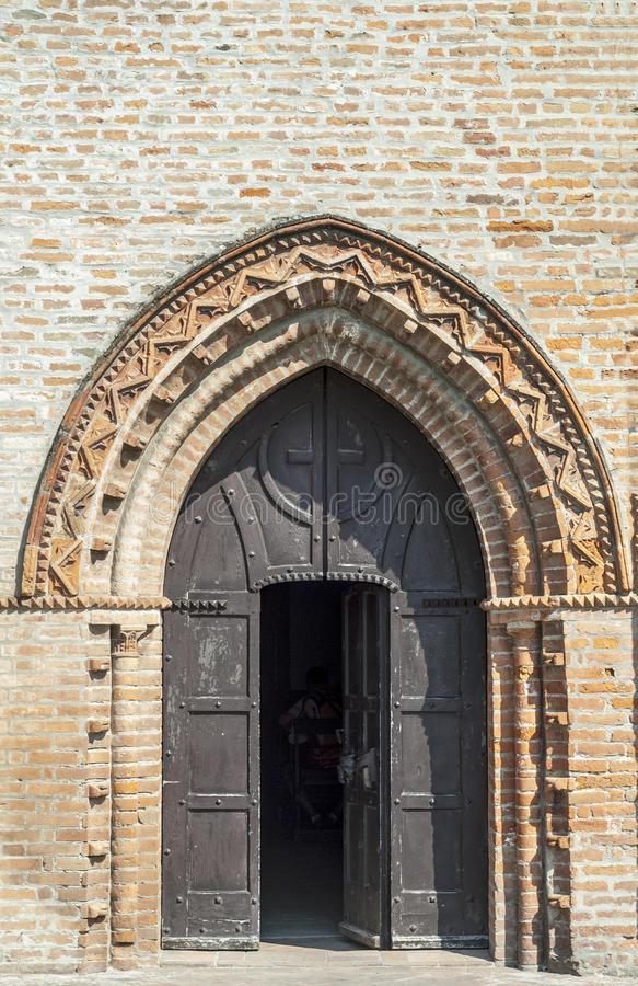 Download Ancient Church Near Felonica Stock Photo - Image: 28558682