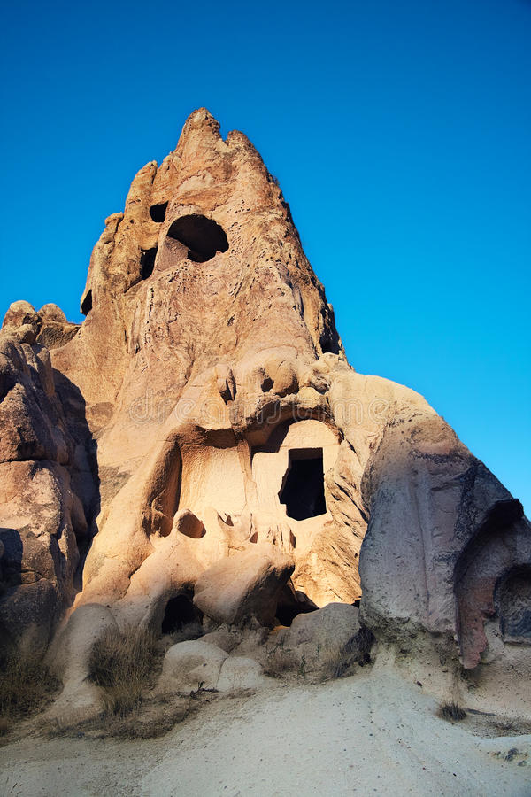 Ancient Churches in rock royalty free stock photo