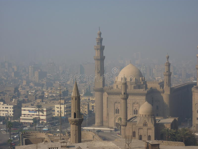 Download The Ancient Citadel In Cairo Egypt Stock Image - Image of mosque, domes: 48599083