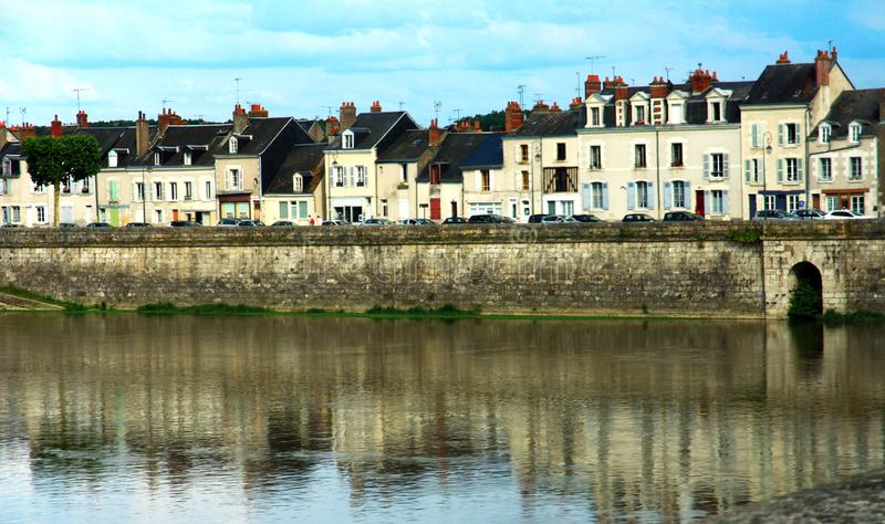 Ancient city of Blois in France royalty free stock image