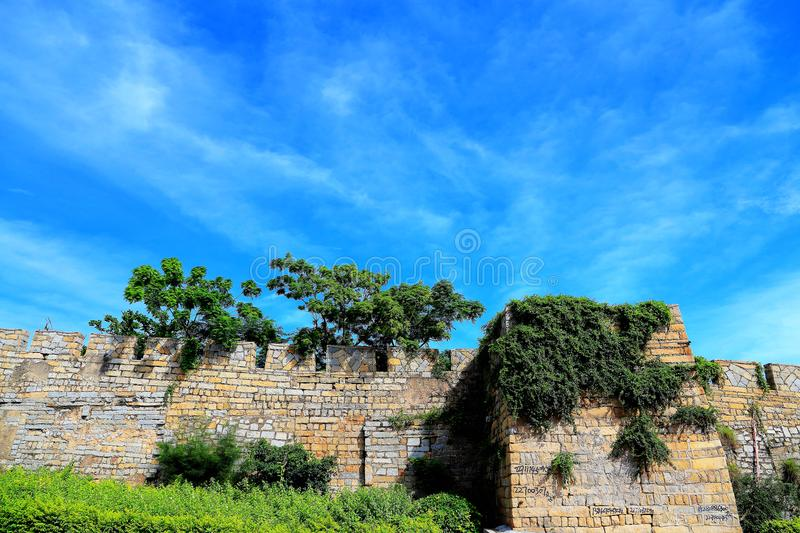 The Ancient City of Chongwu royalty free stock photo