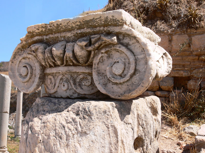 Download Ancient city ephesus stock image. Image of monumnet, helenistic - 3234517