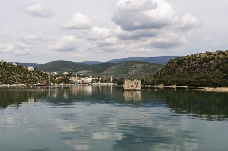 Ancient city of Iasos royalty free stock photos