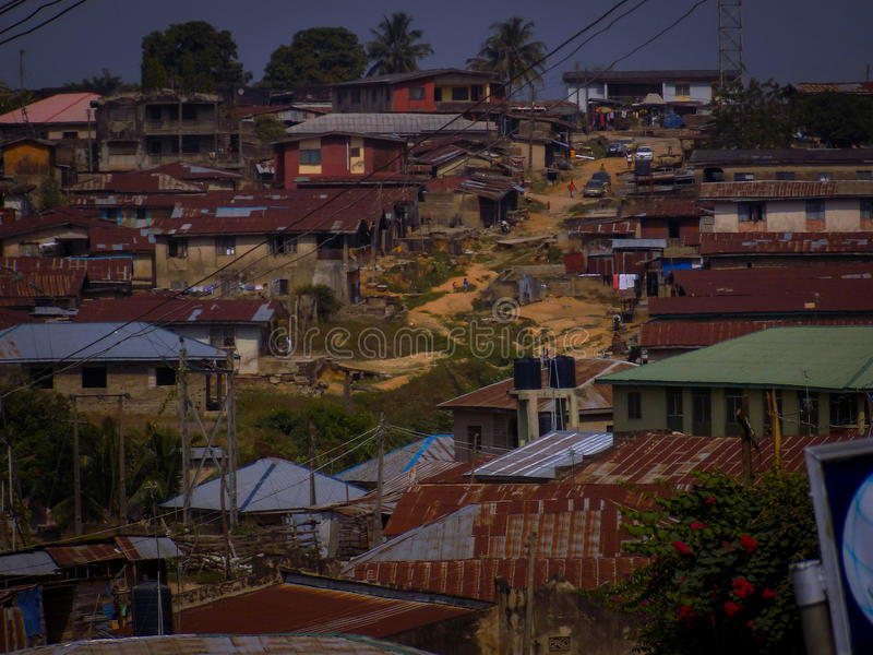 The Ancient city of Ibadan royalty free stock image