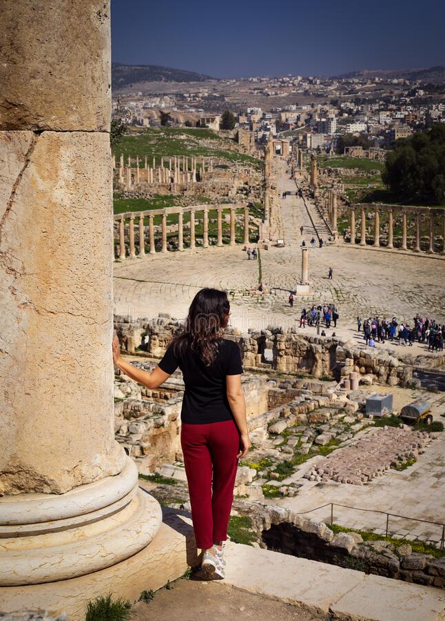Free Ancient City Jerash Jordan. Stock Photo - 207333810