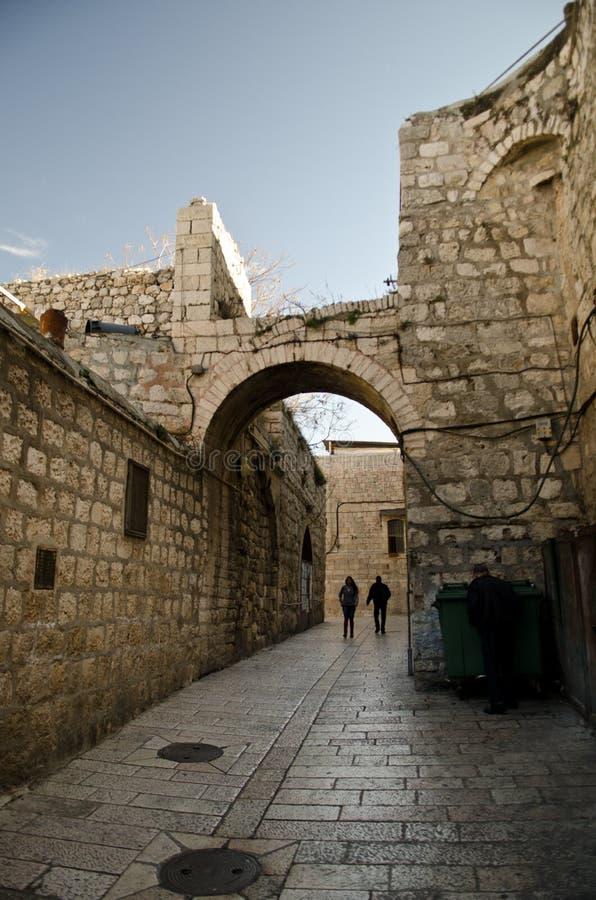 Ancient city of Jerusalem stock photos