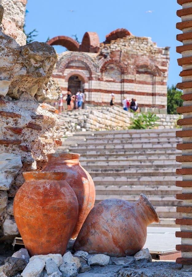 Ancient city Nesebar, Bulgaria royalty free stock images