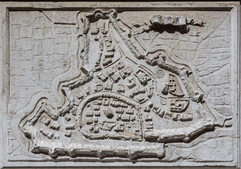 The ancient city of Padua stock photo
