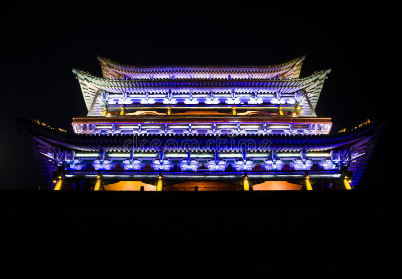 The Ancient City of Ping Yao. The Ancient City of Pingyao is a World Heritage Site near Taiyuan.As the Pingyao ancient city of culture inheritance ground in the stock photos