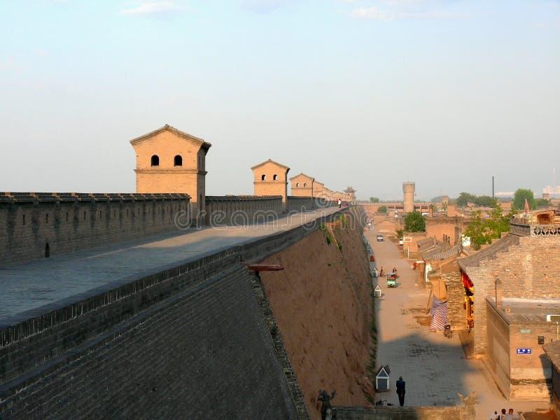 Ancient city wall royalty free stock image