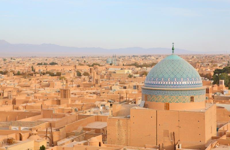 Ancient city of Yazd, Iran stock images