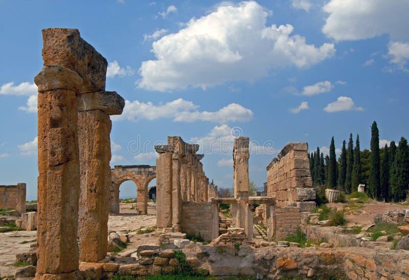 Download Ancient Civilization -  Hierapolis Stock Photo - Image: 35570680