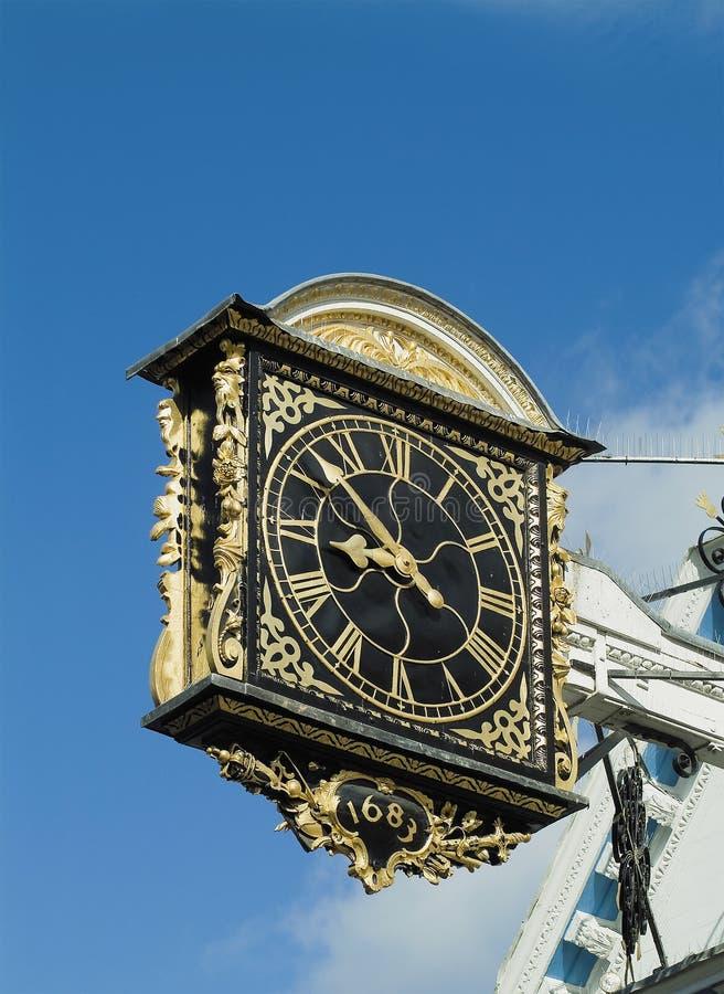 Ancient clock stock photo
