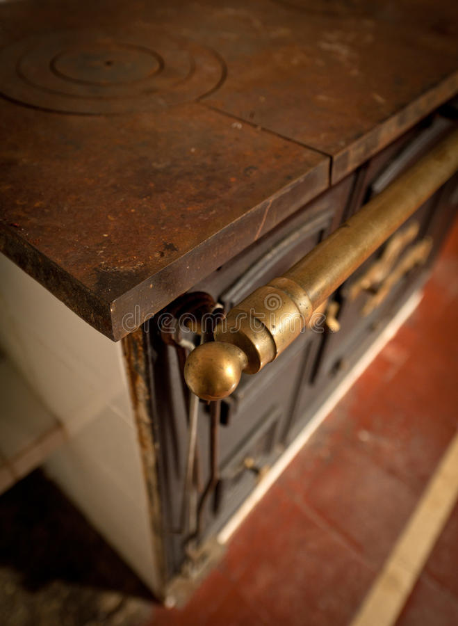 Download Ancient coal stove stock photo. Image of past, kitchen - 26824156