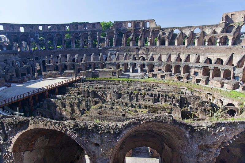 Download Ancient Colosseum Inside Rome Italy Stock Photo - Image: 11634476