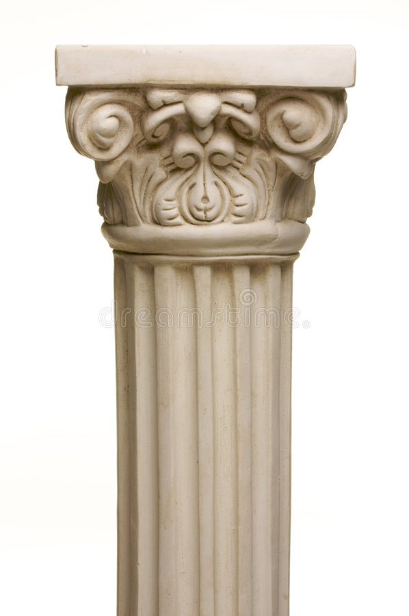 Free Ancient Column Pillar Replica Stock Photography - 5639642