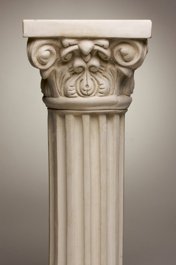 Download Ancient Column Pillar Replica Stock Image - Image: 5639695