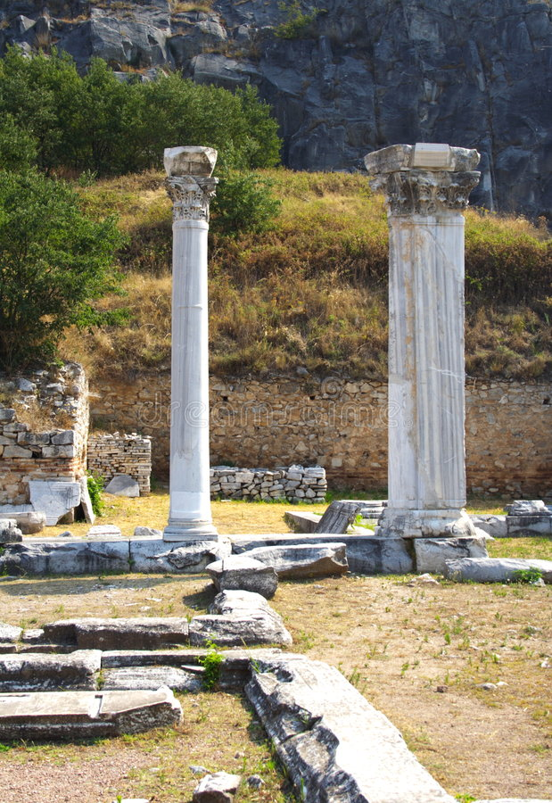 Free Ancient Columns Stock Photo - 4081170