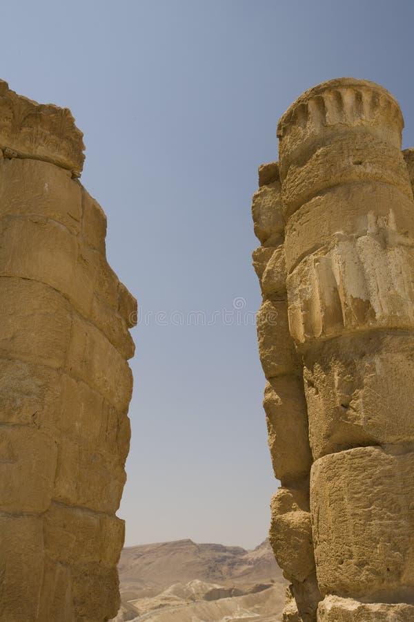 Free Ancient Columns At Masada Israel Royalty Free Stock Images - 3806419