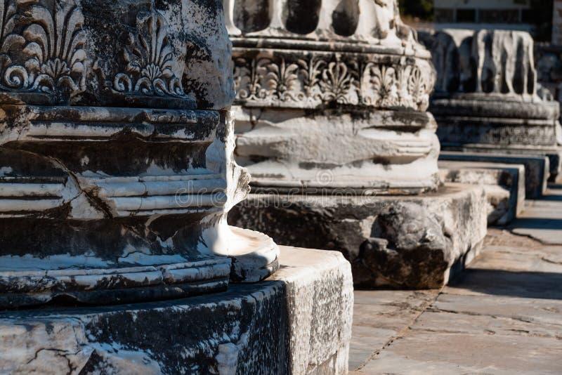 Ancient Columns royalty free stock photos