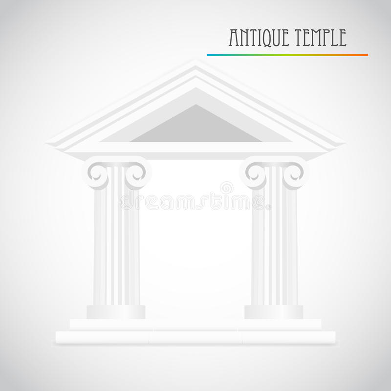 Download Ancient columns vector stock image. Image of classical - 34364255