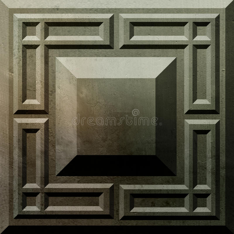 Free Ancient Concrete Block Series (1) Royalty Free Stock Images - 9772029