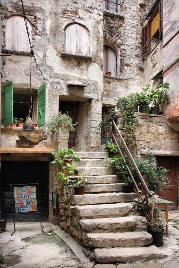 Ancient courtyard
