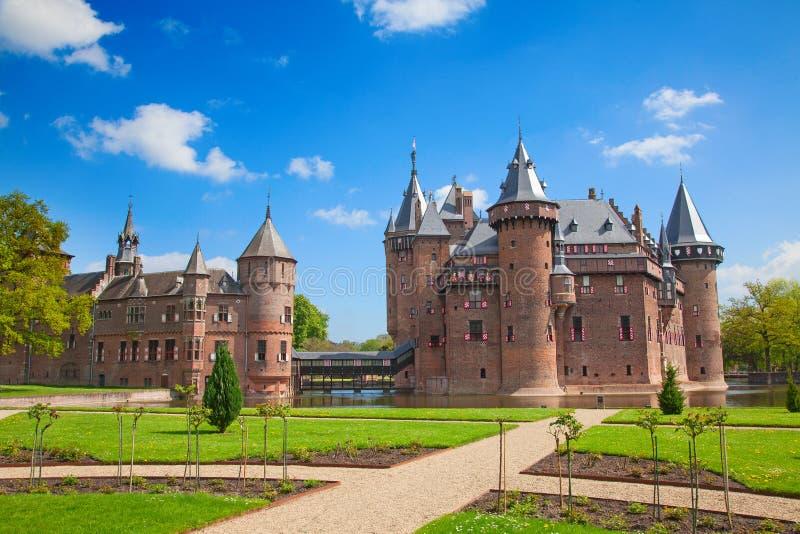 De Haar castle stock photography