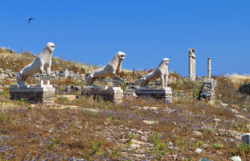 Download Ancient Delos Island In Greece Royalty Free Stock Image - Image: 31278146