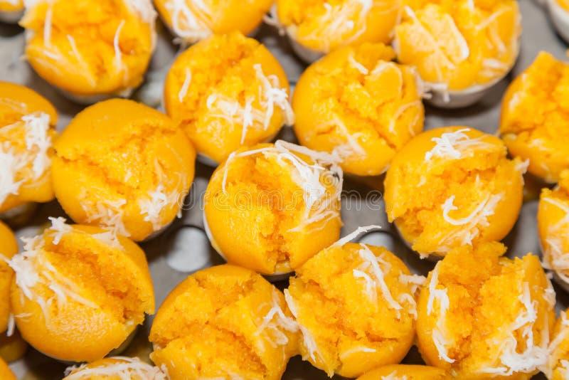 Ancient Dessert Called  Kanom Tan Stock Images