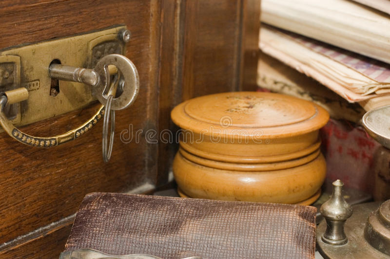 Ancient different old things royalty free stock image
