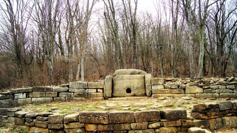 Ancient dolmen royalty free stock photos