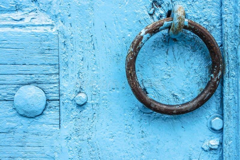 Ancient door handle royalty free stock images