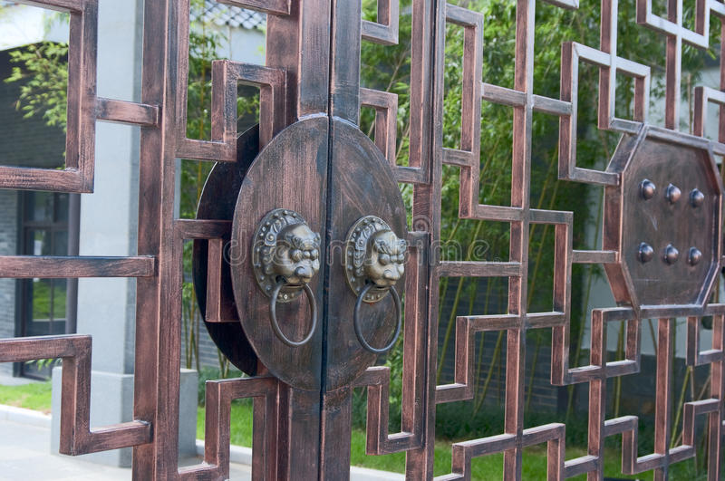 Download Ancient door knob stock image. Image of lion, ancient - 16105119