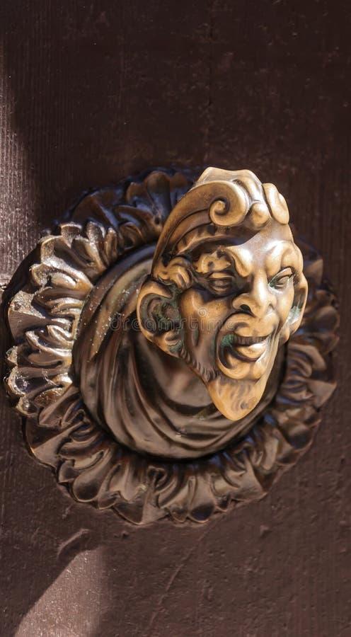 Download Ancient door knob stock image. Image of metal, architecture - 25605935
