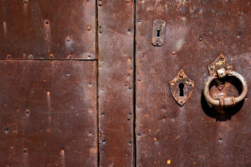 Ancient door texture stock photos