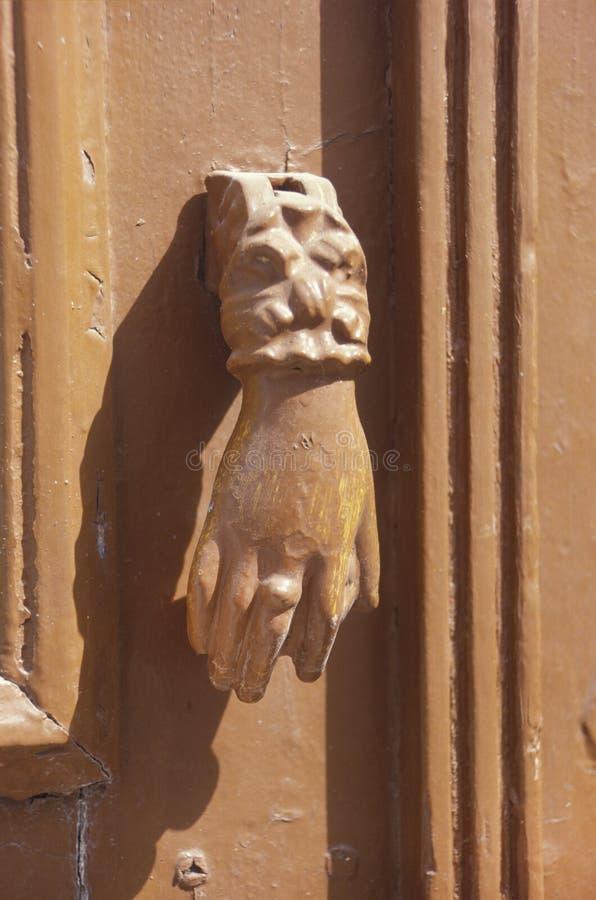 Download Ancient Doorknocker In Pathmos,Greece Stock Photo - Image: 12099298