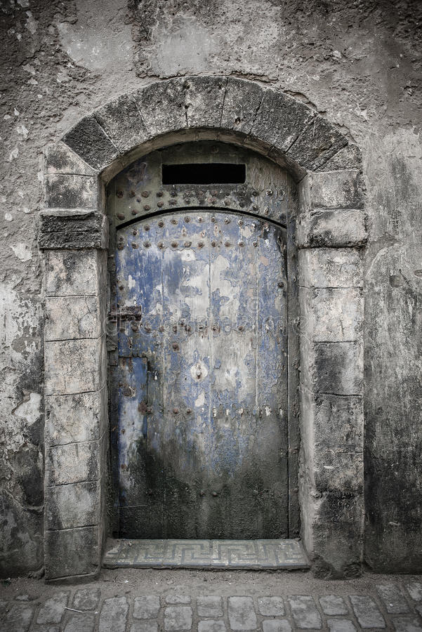 Download Ancient doors, Morocco stock photo. Image of gate, arabic - 33634260