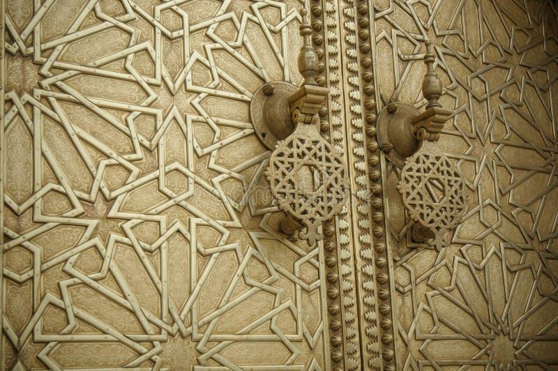 Ancient doors, Morocco stock photos
