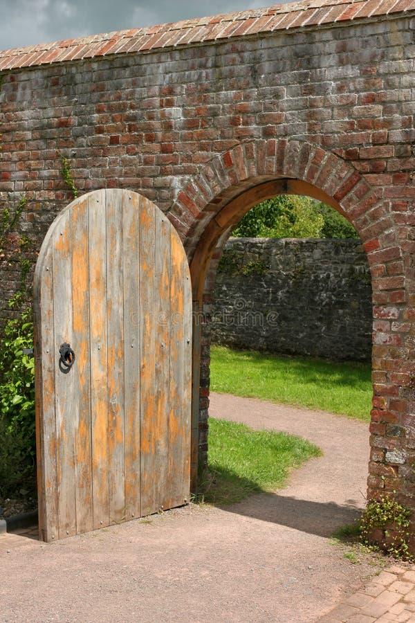 Download Ancient Doorway stock photo. Image of beyond, future, grunge - 3450618