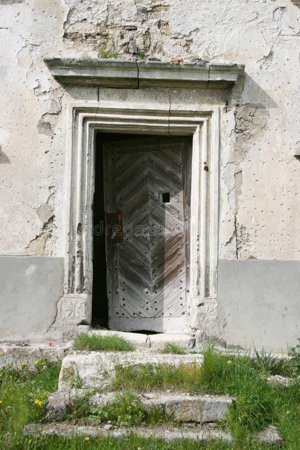 Ancient doorway royalty free stock image