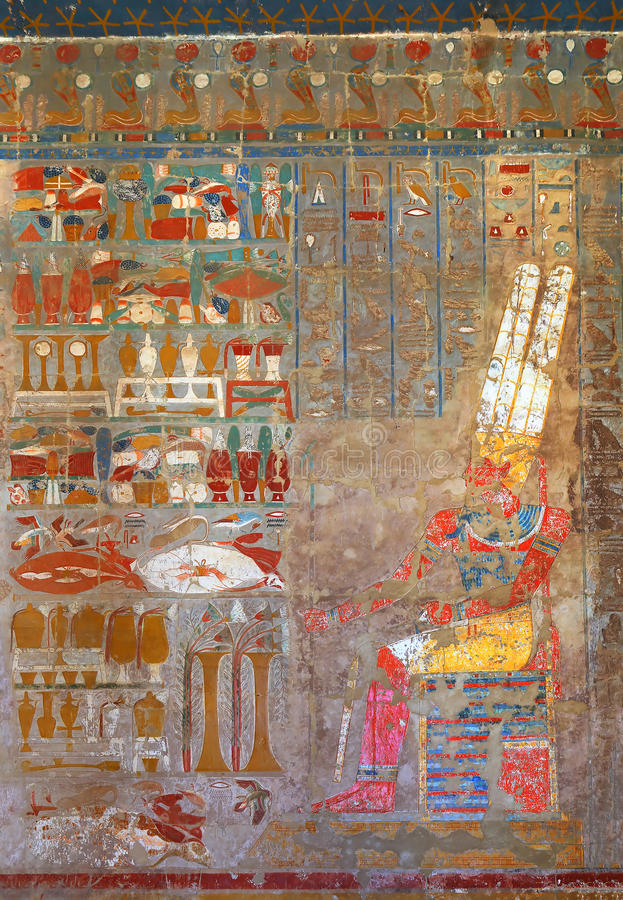 Ancient egypt color images royalty free stock photos